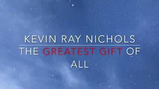 The Greatest Gift of All (official lyric video)