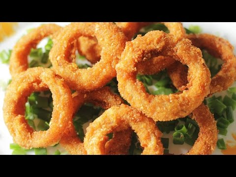 Onion Rings | Quick and Easy Appetizer Recipe | Kanak's Kitchen [HD]
