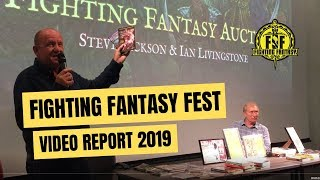Ian Livingstone On How To Write A Fighting Fantasy Book. Full 2019 Fighting Fantasy Event Report!