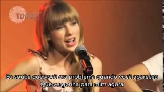 Taylor Swift-I Knew you were a trouble Acoustic Legendado