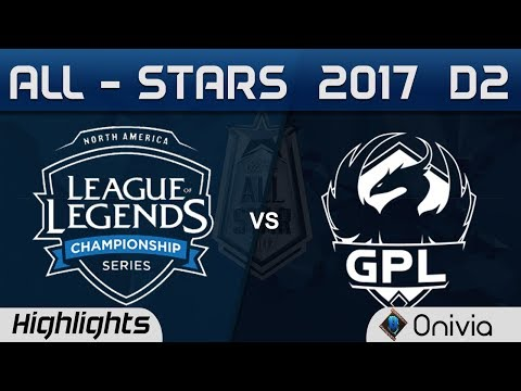 NA LCS vs GPL Highlights ALL Stars 2017 Day 2 by Onivia