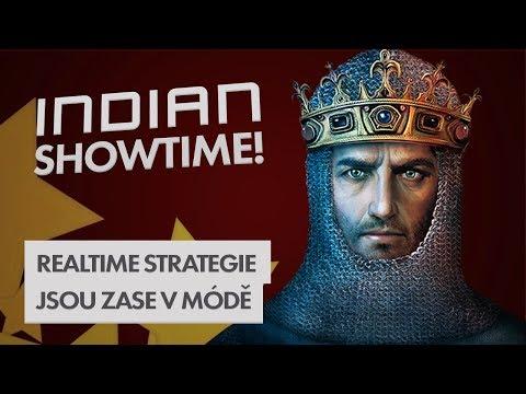 Realtime strategie jsou zase v módě - INDIAN SHOWTIME #18