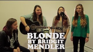 Blonde Cover By Bridgit Mendler