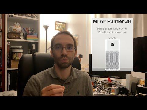 [Avis] Purificateur d'air Xiaomi Mi Air Purifier 3H après 3 semaines d'utilisation 😱
