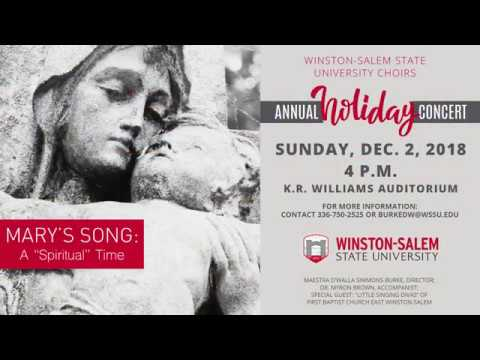 YouTube Promo Video for Singing Rams Holiday Concert