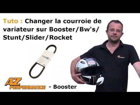 Changer la courroie de variateur de son Booster / Stunt / Rocket / ...