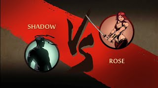 "Shadow Fight 2 : Act 3 Weapon Challenge - "" Katana "" by Rose HD"