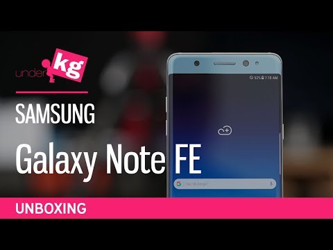 It's Back! Samsung Galaxy Note FE Unboxing [4K]