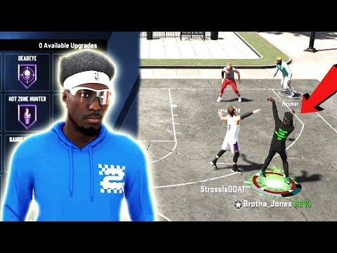 these OP SHOOTING BADGES made my OFFENSIVE THREAT UNSTOPPABLE!!! BEST JUMPSHOT IN 2K20! BEST BUILD!