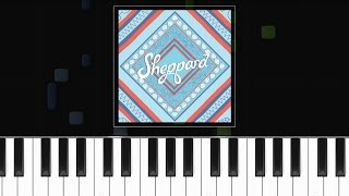 "Sheppard - ""Let Me Down Easy"" - Piano Tutorial - Chords - How To Play - Cover"