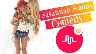 Savannah Soutas - The Best Comedy musical.ly Compilation 2016