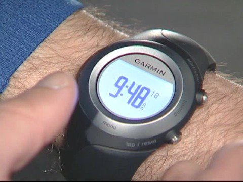 Garmin Forerunner 405 - Power & Charging