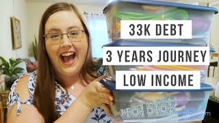 Sarah Is Debt Free - Paid Off 33K Of Student Loans In  3 Years | Budget Girl