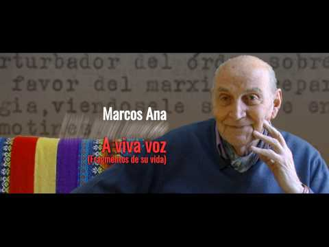 Marcos Ana, A VIVA VOZ.
