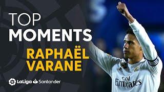 BEST MOMENTS Raphaël Varane LaLiga Santander