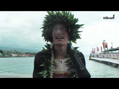 Ironman Hawaii 2014: Sebastian Kienle im Siegerinterview - Worldchampion