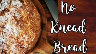 Easy No Knead Bread Without Dutch Oven | Artisan Style Bread | LOCKDOWN Bread Recipe