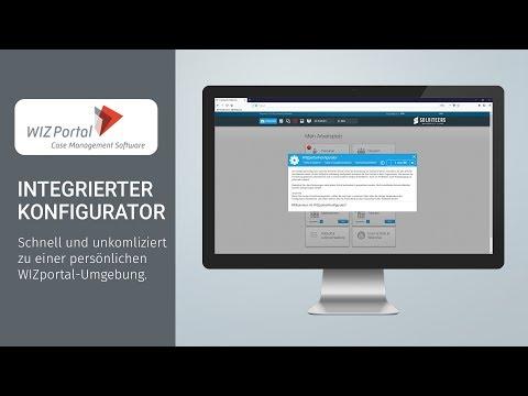 Konfigurator Case Management Software Wizportal