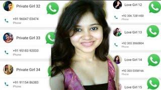 10000+ Real Indian Girls WhatsApp Number List 2021 / लड़कियों का व्हाट्सएप्प नंबर यहां मिलेगा आपको
