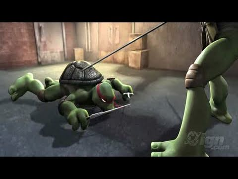teenage mutant ninja turtles smash up wii gameplay