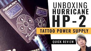 Unboxing Hurricane Hp-2 Tattoo Power Supply