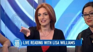 Lisa Williams Live Reading   Studio 10