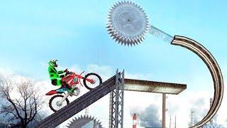 Bike Stunts - Extreme - Gameplay Android game - bikes stunt game