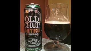 #147 Oskar Blues Brewery | Old Chub Nitro 6.9%ABV Scotch Ale (American Craft Beer)