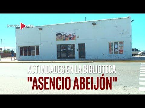 """Actividades en la Biblioteca """"Asencio Abeijón"""" de Playa Unión"""