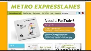 Metro ExpressLanes: Where to Get FasTrak® - Now Open