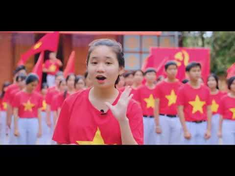 MV Hát Quốc Ca - Liên đội trường THCS Hùng Vương
