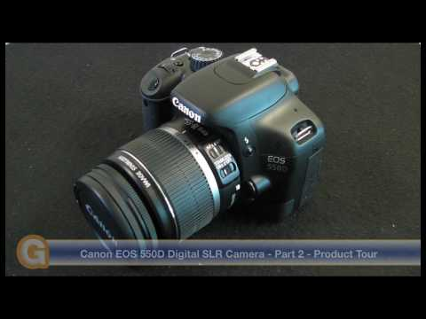 Canon EOS 550D T2i Digital SLR Camera - Part 2 - Product Tour