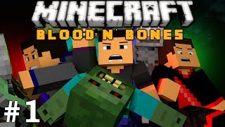 Minecraft: FTB Blood n' Bones Adventure! Ep. 1 - Starting Off AWFUL!