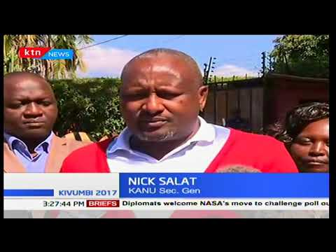 Elected KANU leaders held a a trategy meeting in Nairobi