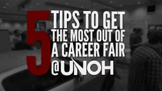 5 Tips To Get The Most Out Of A Career Fair At UNOH