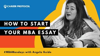 Don't Write Boring MBA Essays! Here's How to Start
