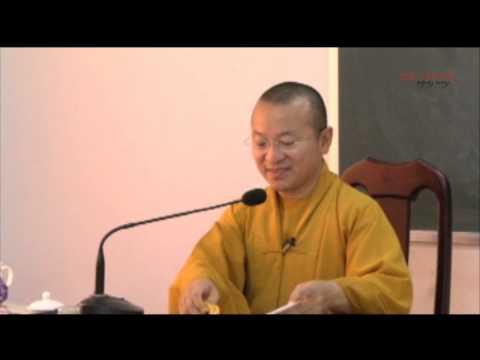 Vấp đáp: Cực lạc, mầu nhiệm, vãng sinh và nhân quả (06/06/2014) - Thích Nhật Từ