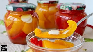 Вкусный Проверенный Рецепт Маринованного Перца в Масле на Зиму!