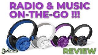 Energy Sistem Bluetooth Urban 2 Radio Headphones Review