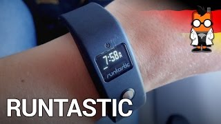 Runtastic Orbit Fitness-Armband im Interview vorgestellt
