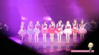 [Fancam] 130609 Tears acapella : SNSD Girls & Peace World Tour in Seoul by Noot Sunshiner