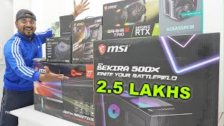 2.5 Lakh Rupees ULTIMATE GAMING PC India 2020