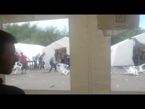 Dresde : bagarres entre Syriens et Afghans dans un camp de réfugiés