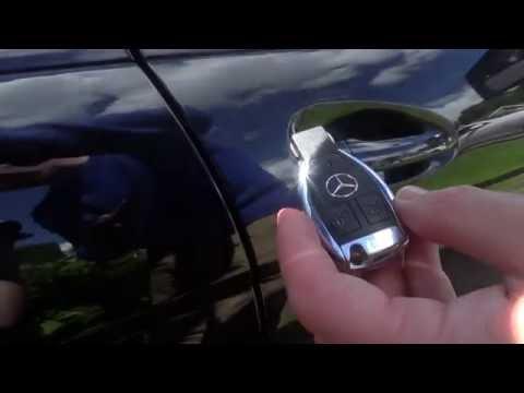 PART 2 Mercedes Benz C class W204 Handy Features - Locking System