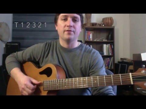 Hallelujah tutorial // complete verse & chords // part 2 of 2