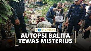 Polisi Bongkar Makam Balita yang Meninggal Misterius dengan Organ Tubuh Tak Lengkap di Kaltim