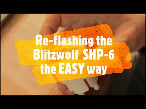 Easy Blitzwolf BW-SHP6 flasher by RobinSt - Thingiverse