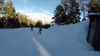 preview picture of video 'Tomás na neve, em Pal, Andorra (2014/01/03)'