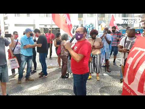 Ato do Macrossetor dos Serviços Públicos da CUT contra a Reforma Administrativa de Bolsonaro