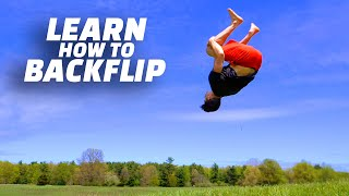 The Ultimate Beginner How to Backflip Tutorial